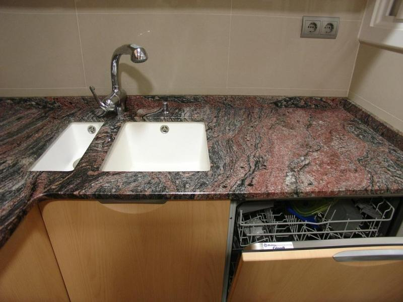 Marmolistas encimeras de granito en almeda cornell - Fregaderos de granito para cocina ...